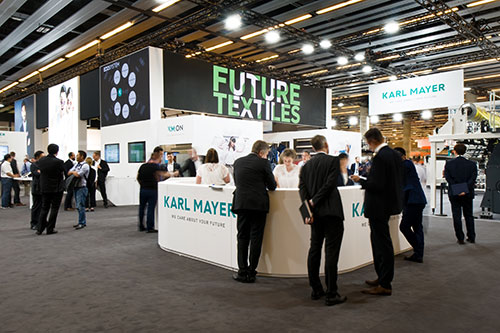 Karl Mayer happy with visitor turnout at ITMA 2019