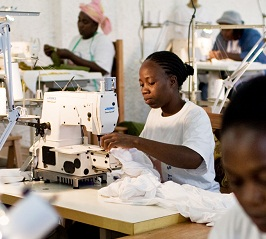Garment trade would boost Africa's economy