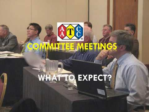 AATCC scholars to present latest research at committee meetings
