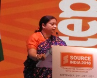 Source India 2018 Offers a great platform for buyerssuppliers of manmade textiles 004