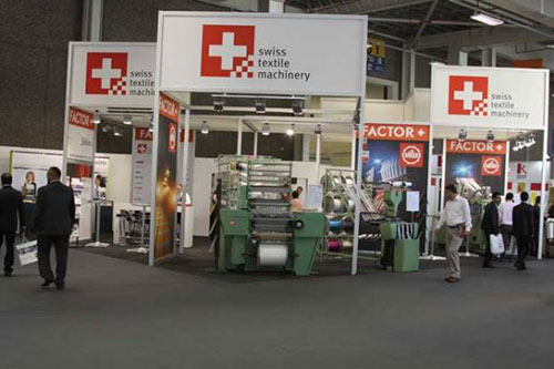 Swiss Textile Machinery focuses on competitive growth structure