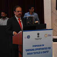 Symposium on emerging opportunities for Indian textiles