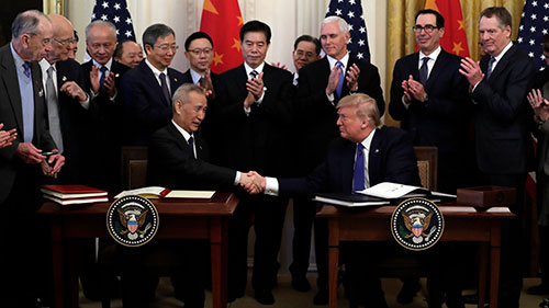 US China tariff battle ends with trade deal apparel sector unhappy with deals